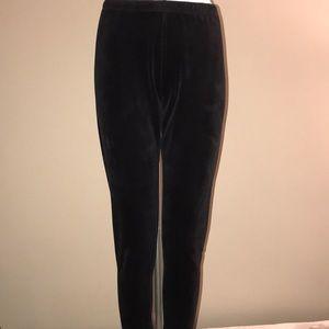 NO BOUNDARIES Velour Leggings SIZE XL (15-17)